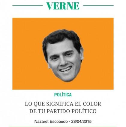 Artículo en Verne