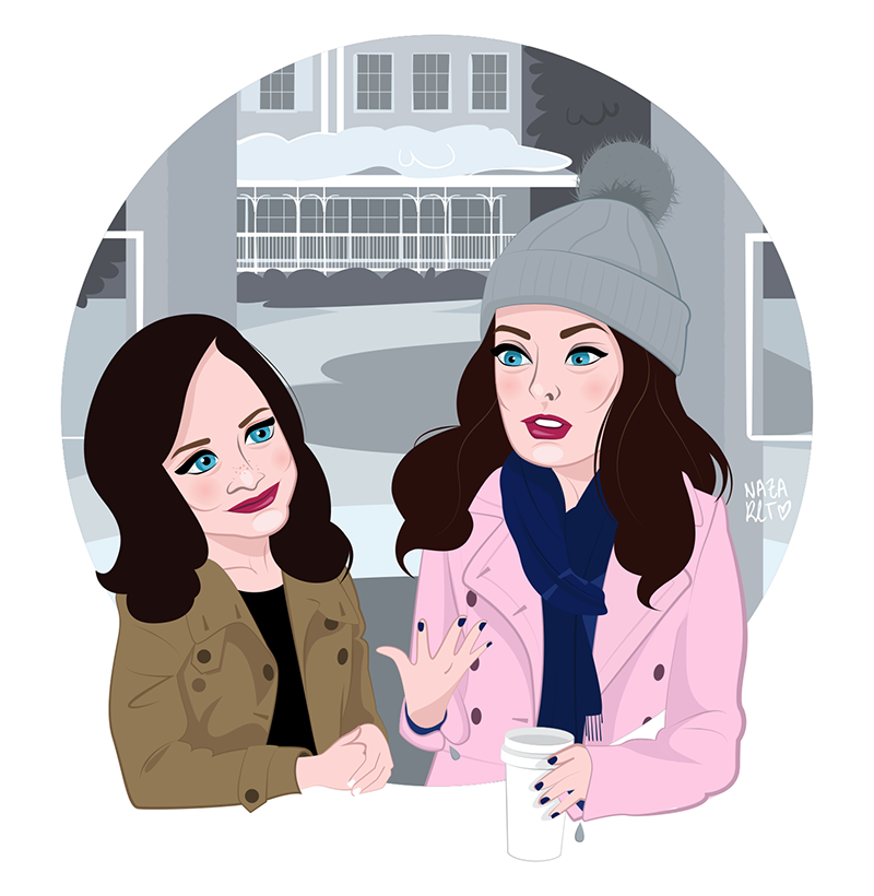 Gilmore Girls, A year in the life. Winter.