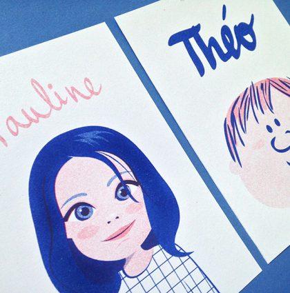 Riso de Pauline y Théo