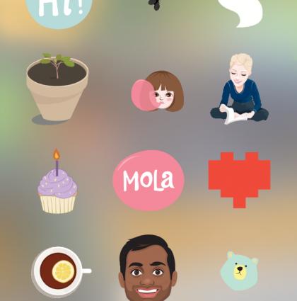 Mis stickers en tus stories de Instagram